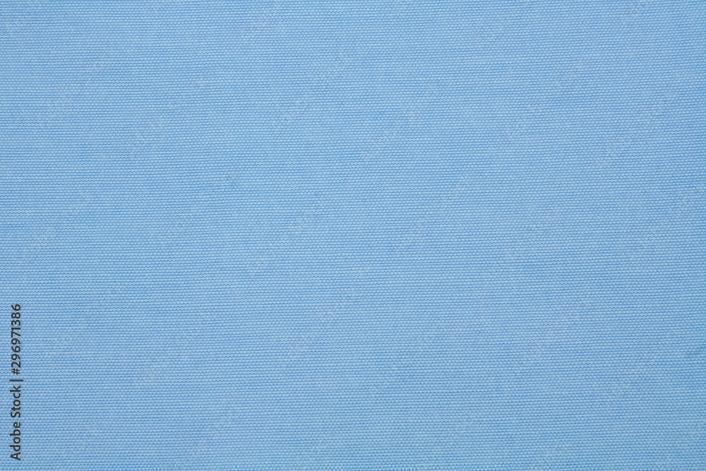 Fototapety, obrazy: Blue texture fabric background made of natural material