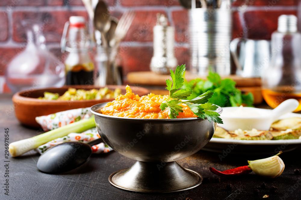 Fototapety, obrazy: zucchini dishes