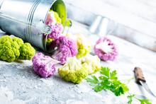 Color Cauliflowers