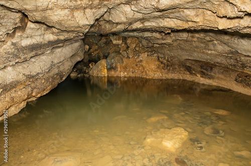 Valokuvatapetti Zigzag karst cave