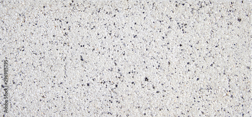 Fotomural .Grey granite stone background, patterned texture