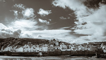 Staithes Harbor, North Yorkshire Moors