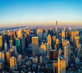 Fototapeta Nowy York Manhattan skyline