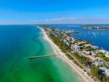 Aerial View Of Cortez Beach Wi...