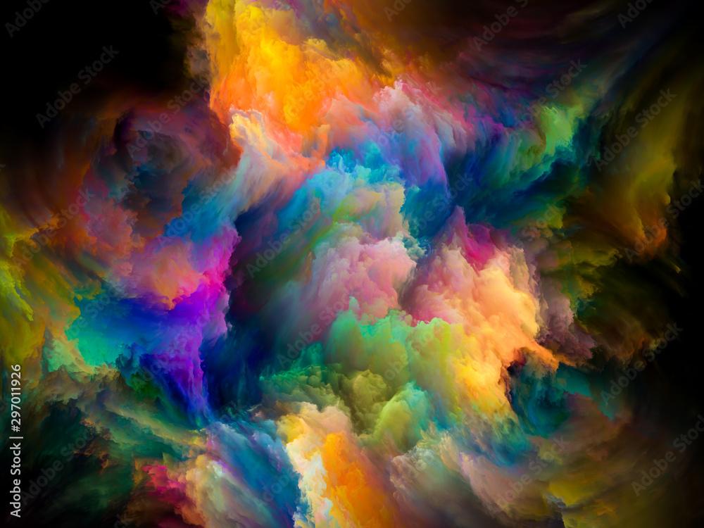 Fototapety, obrazy: Vibrant Paint