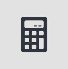 Calculator Icon, Vector Illust...