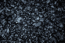 Dark Coal Texture, Coal Mining, Fossil Fuels, Environmental Pollution.