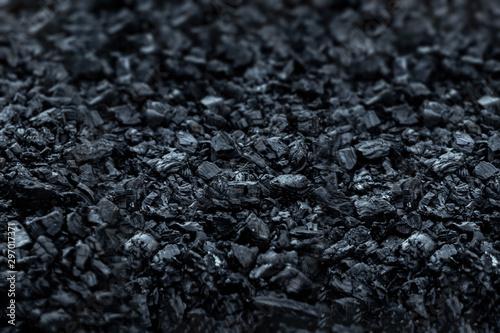 Dark coal texture, coal mining, fossil fuels, environmental pollution Tapéta, Fotótapéta