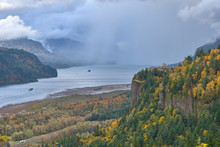 Autumn Showers In The Columbia...