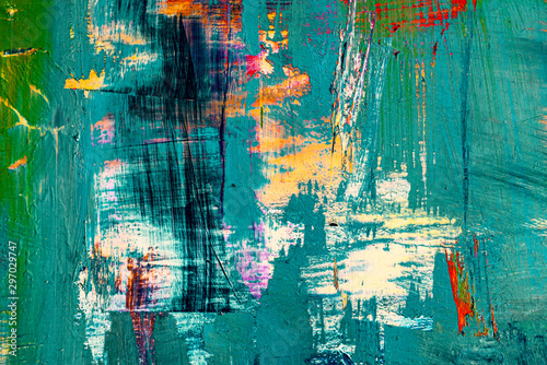 Obraz modern timeless multicolored abstract background - fototapety do salonu