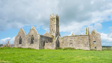 Ross Errilly Friary In Ireland