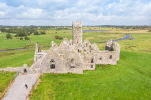Aerial View Of Ross Errilly Fr...