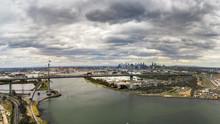 West Gate Bridge And Melbourne...
