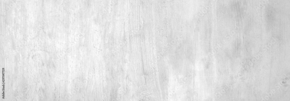 Fototapety, obrazy: White soft wood plank texture for background. Surface for add text or design decoration art work.