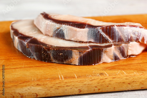 Fototapeta Blue Shark Cooking obraz