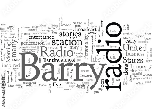 Papel de parede  Barry Michaels Radio is My Life