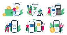 Mobile Payments. People With S...