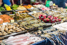 Traditional Vietnamese Street Food Sold In Da Nang Night Market
