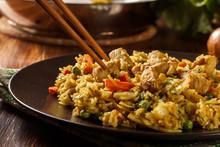 Fried Rice Nasi Goreng With Ch...