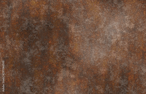 rusty aged eroded metal  - 297066500