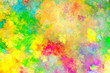 Leinwandbild Motiv Abstract painting multicolor texture.