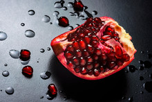 Delicious Beautiful Pomegranat...