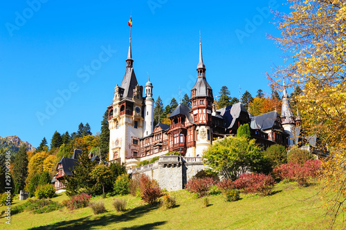 Peles Castle, Romania Fototapete