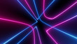 neon blue pink abstract futuristic galaxy ultraviolet curvy glowing dna neuron lines laser scientific Sci-Fi high resolution abstract black background mobile apps web and social media posts