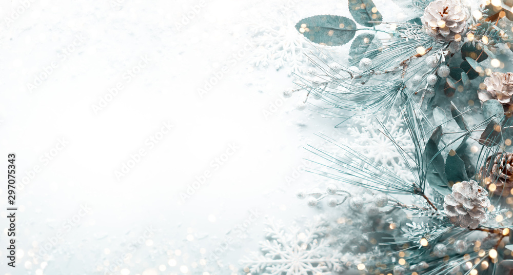Fototapety, obrazy: Christmas and New Year holidays concept