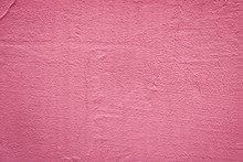 Texture Of A Painted Pink Wall...