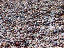 Rocky Pebble Beach As An Eleme...