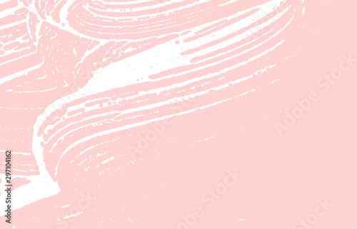 Grunge texture. Distress pink rough trace. Fabulou Canvas-taulu