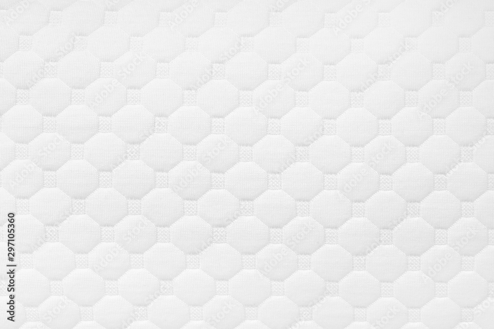 Fototapety, obrazy: Background of soft comfortable quilted white pillow