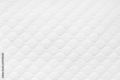 Canvastavla  Background of soft comfortable quilted white pillow