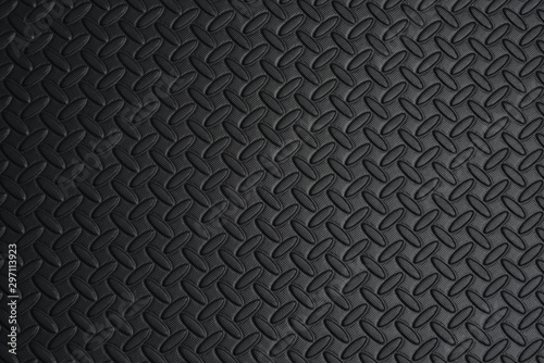 Fotomural  black texture background with fading light