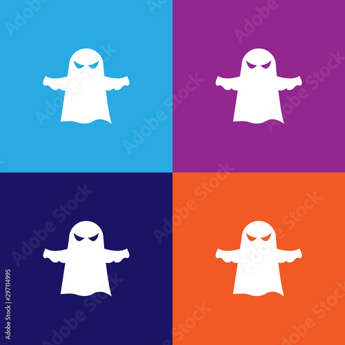 Ghost icon Wallpaper Mural