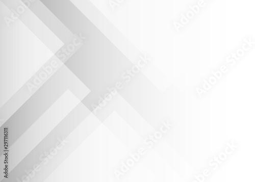Pinturas sobre lienzo  Abstract light gray geometric shape subtle vector background