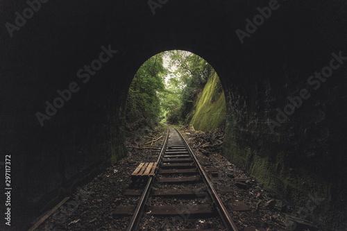 Obraz Wichlinghauser Tunnel - fototapety do salonu