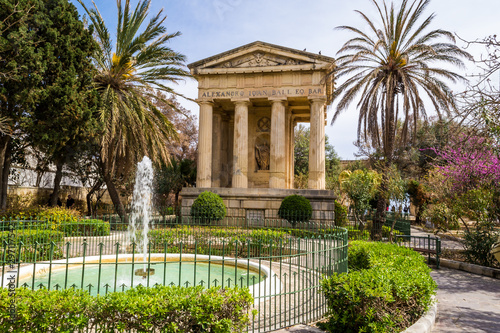 Foto auf Gartenposter Altes Gebaude Valletta is a beautiful historic city and other charming places on the island of Malta