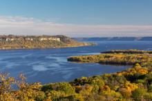 Mississippi River Scenic Autum...