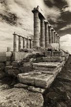 Poseidon Temple In Greece