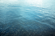 Water Surface With Ripples For Backgrounds