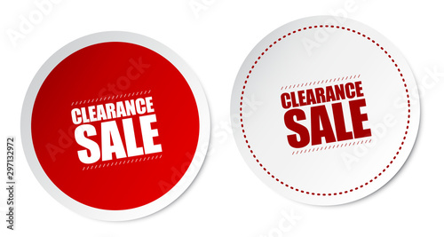 Obraz Clearance Sale Stickers - fototapety do salonu
