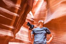 Antelope Slot Canyon With Phot...