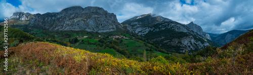 Fototapety, obrazy: Cabañes, Liébana Valley, Cantabria, Spain, Europe