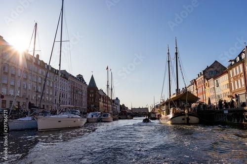 Copenhagen harbour Wallpaper Mural
