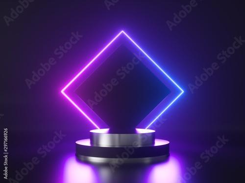 Fotografia, Obraz Neon background