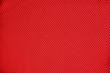 Leinwandbild Motiv Smooth texture bright red mesh fabric.