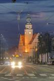 Fototapeta Londyn - Olsztyn nocą