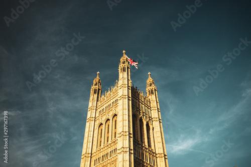 Staande foto Oude gebouw London